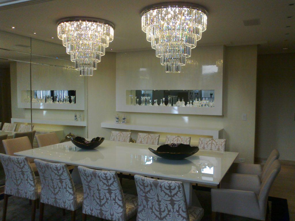 Salas - de Jantar com 10 cadeiras
